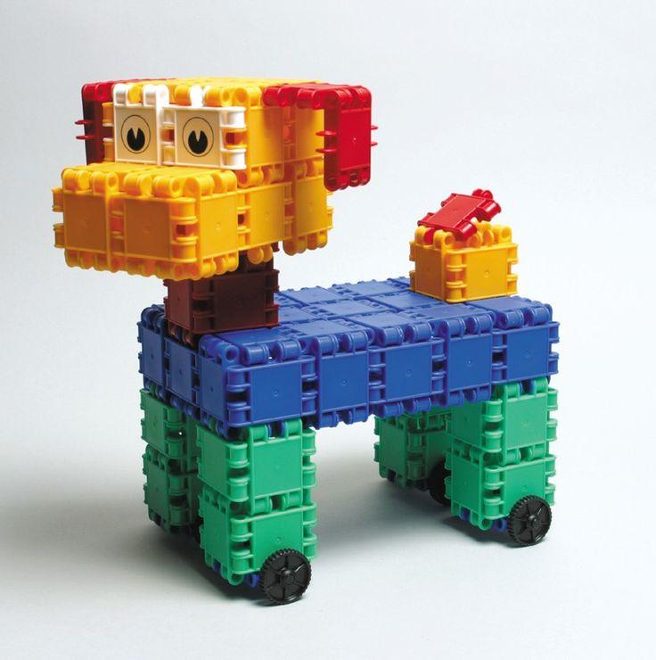 Ben je gek op dieren? Heb je altijd al een hondje wille hebben? Dan bouw je die toch gewoon met Clics!