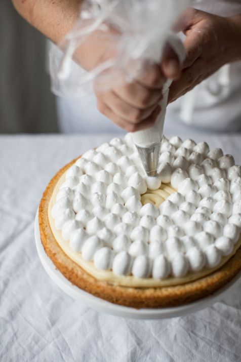 Pierre Hermés Lemon Meringue Tart