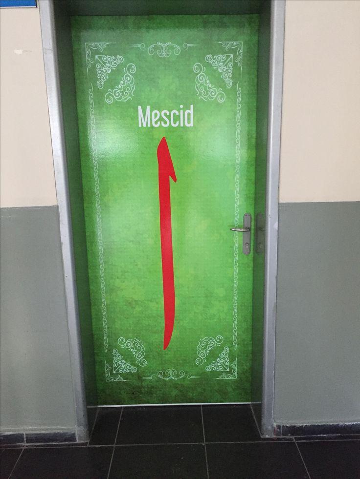 Okul kapısı Sınıf kapısı tasarımı
