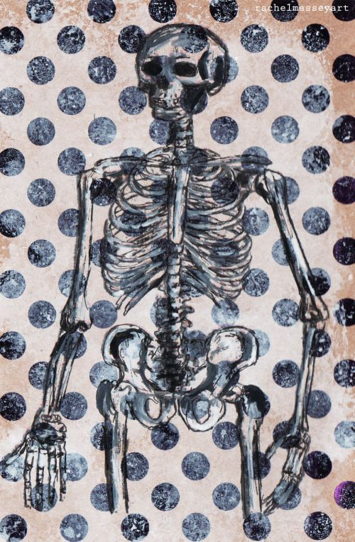Inktober #24 | Skeleton