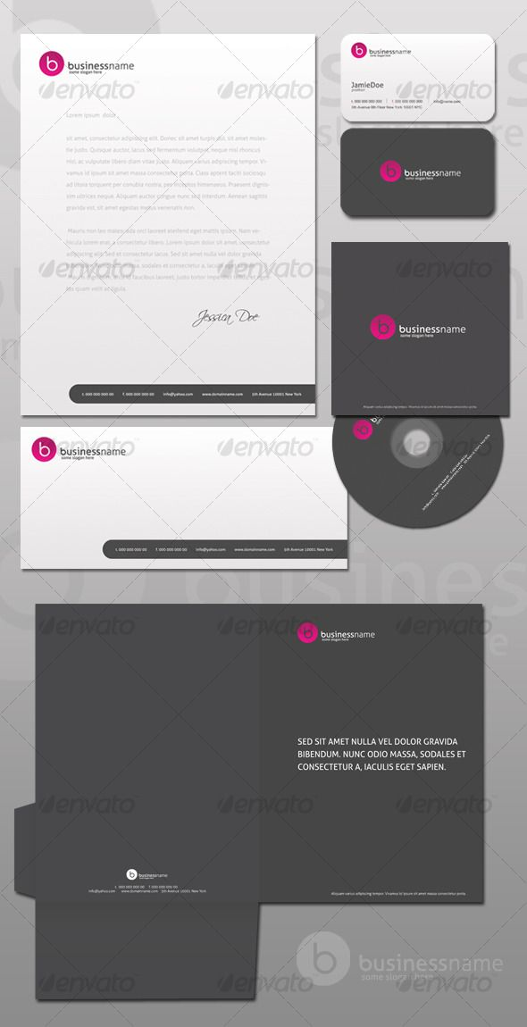 Best Branding Kits Images On   Corporate Identity