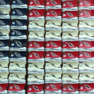 Postmodern, Gestalt image-similarity  Sneakers