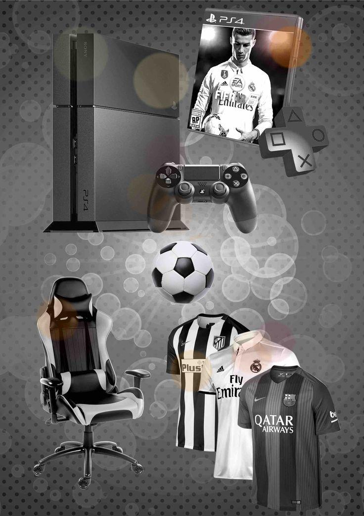 Participa en este sorteo y podrás disfrutar de TODO lo necesario para darle muy duro al FIFA18: PS4 + FIFA18, mando, silla gamer, camiseta de tu club favorito, 1 año de PSPlus...¡incluso un balón firmado por la Crazy Crew!