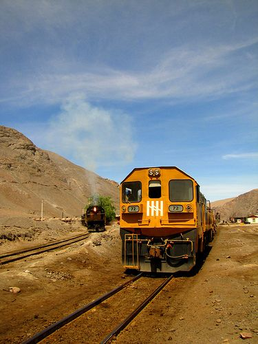 Chanaral Llanta Potrerillos railway | ... No. 72 was kept waiting for further…