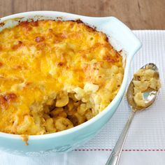 Give up the box mix because making Classic Baked Macaroni and Cheese from scratch is easier than you think. Shredding a block of cheese adds a little more prep time but the smooth and creamy results are worth it. For more tasty mac and cheese recipes, see our complete Macaroni and Cheese recipe collection.)