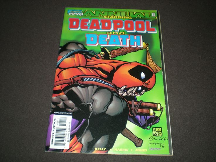 Deadpool and Death Annual 1 (1998), Ajax App., Weapon X, Marvel Comics, DE1 by HeroesRealm on Etsy
