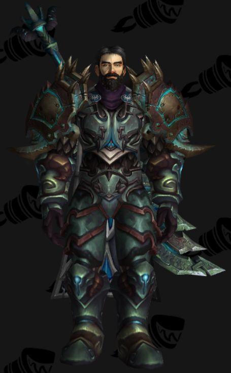 Human Paladin Warrior Transmog