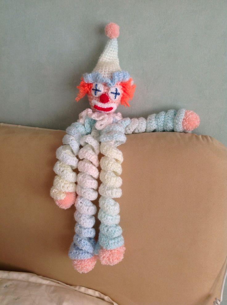 Curly The Clown Crochet Dolls Free Patterns Crochet