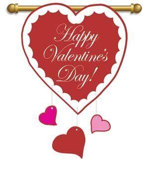 "Regular Size Flag, 29""x42"",Happy Valentines Day by Ashley Gifts. $36.95"
