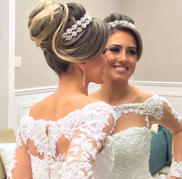 Dicas de penteados para noivas. Para você noiva escolher o penteado perfeito que mais combina com o seu estilo e o estilo do seu casamento