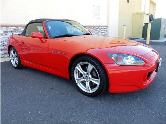 Convertible, 2008 Honda S2000 with 2 Door in Sacramento, CA