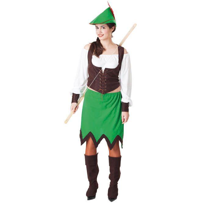 Disfraz de Robin Mujer de los Bosques