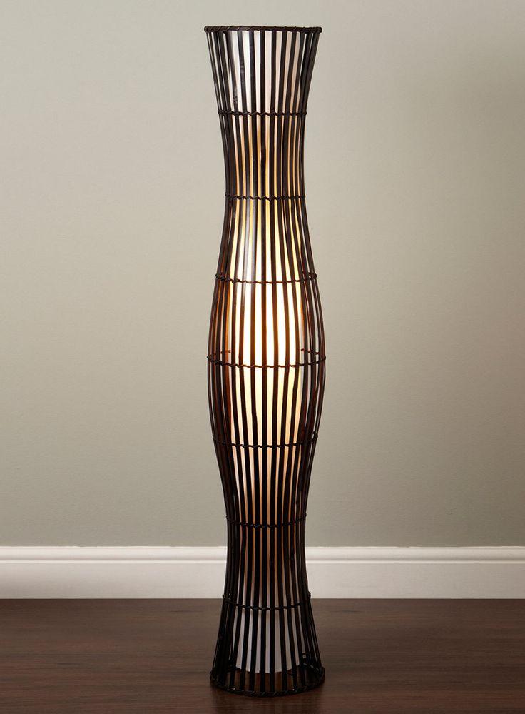 12 best Woven Lamps images on Pinterest | Wicker, Floor ...