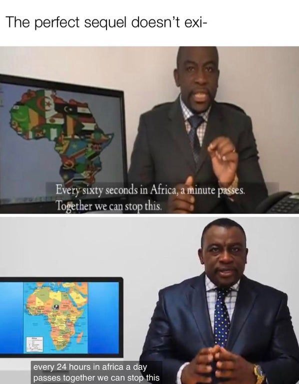 Every Sixty Seconds In Africa A Minute Passes : every, sixty, seconds, africa, minute, passes, Memes, Worth, Click, Funny, Memes,