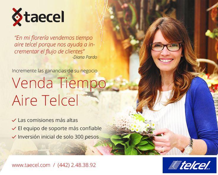 Vende Tiempo Aire Telcel en cualquiera que sea tu Negocio. #celulares #recargas #telcel #tiempoaire