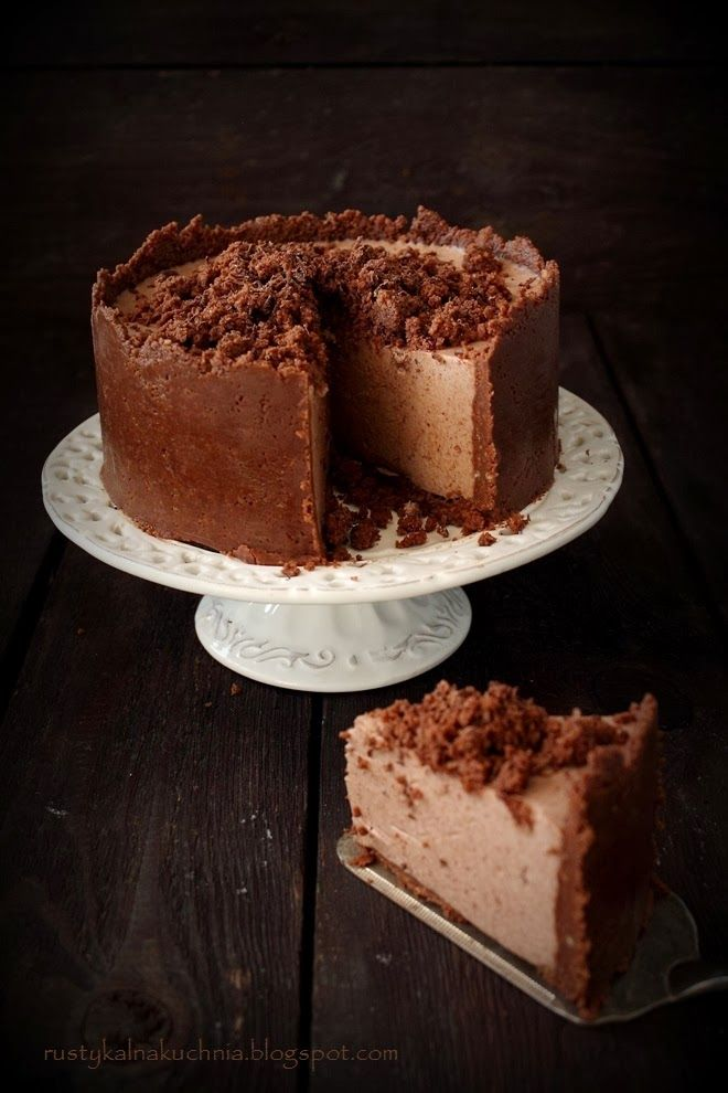 no bake choc cheesecake