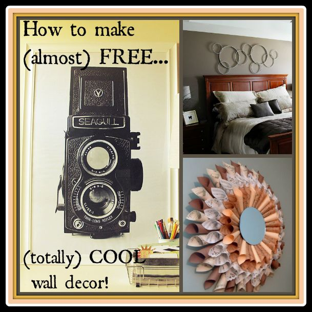 cheap but totally cool diy wall decor ideas wall decor ideas