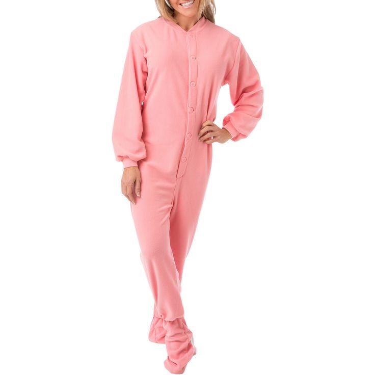 Big Feet Pajama Co. Women's Footed Pajamas