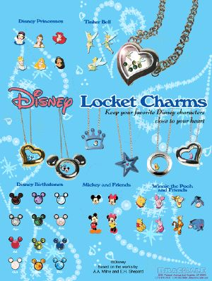 Disney Floating Charm Lockets    Love it.. Want it... ask me how to get it for FREE!  Join my Team!!  ASK ME  http://touchedbyacharm.origamiowl.com