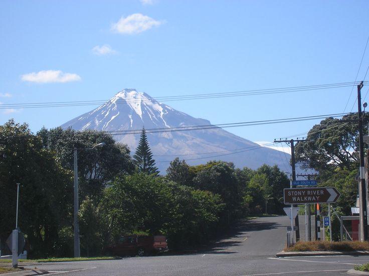 Mount Egmont from Okato.