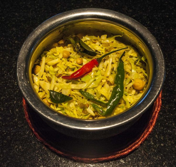 Cabbage and Chickpea Indian Stir Fry (Patta Gobi Chana dal sabji) » The Blood Sugar Diet by Michael Mosley
