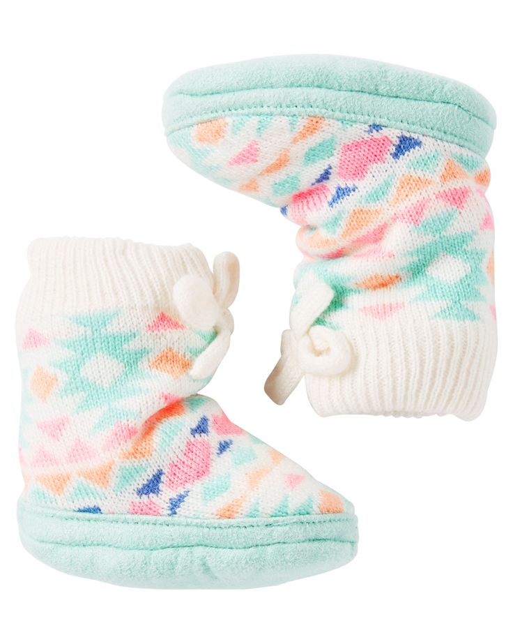 Baby Girl Carter's Slipper Sock | Carters.com