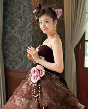 Wedding Dress Fantasy - Chocolate Brown Wedding Dress- Available in Every Color, $1,600.00 (http://www.weddingdressfantasy.com/chocolate-brown-wedding-dress-available-in-every-color/)