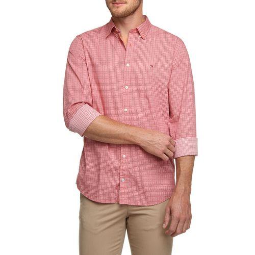 Camisa Social Tommy Hilfiger Estampada