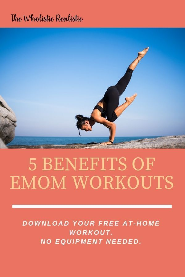 Every minute on the minute workouts (EMOM) are amazing! This workout style is gr… – Health & Fitness