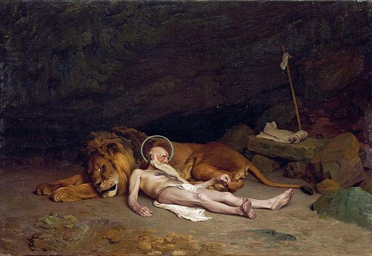 Святой Иероним. Жан-Леон Жером. 1874, 69х93, Штеделевский музей Франкфурт-на-Майне.
