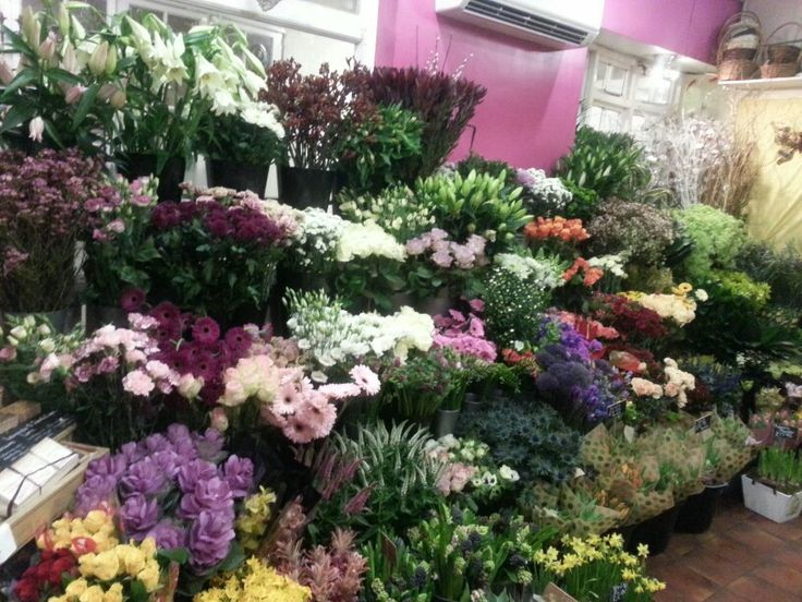 Gorgeous flower selection