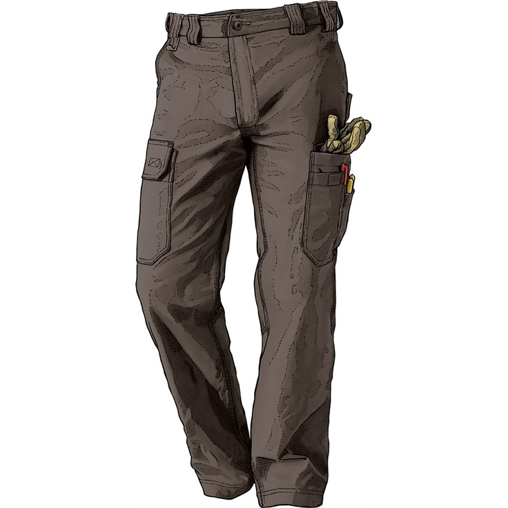 Men's Flex Fire Hose Work Pants