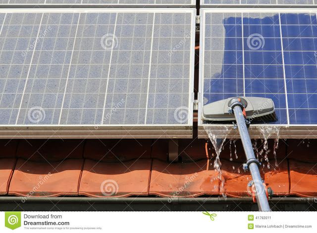 Why you should Clean your Solar Panels Regularly ?   SOLAR GYAN
