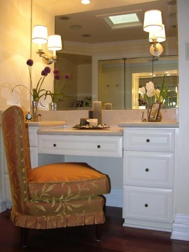 20 best bathroom make up vanities images on pinterest | bathroom