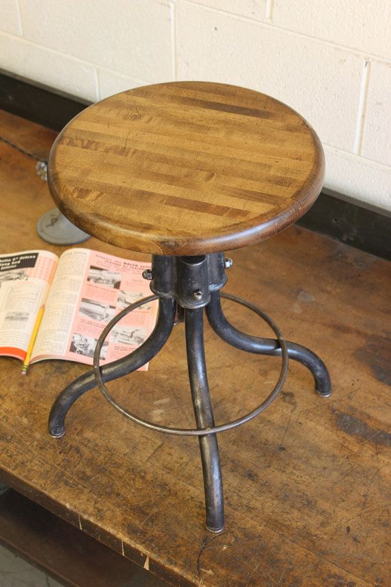1000 Ideas About Vintage Stool On Pinterest Stools
