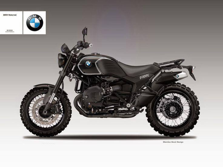 BMW R1200 Scrambler Black Sabbath by Oberdan Bezzi