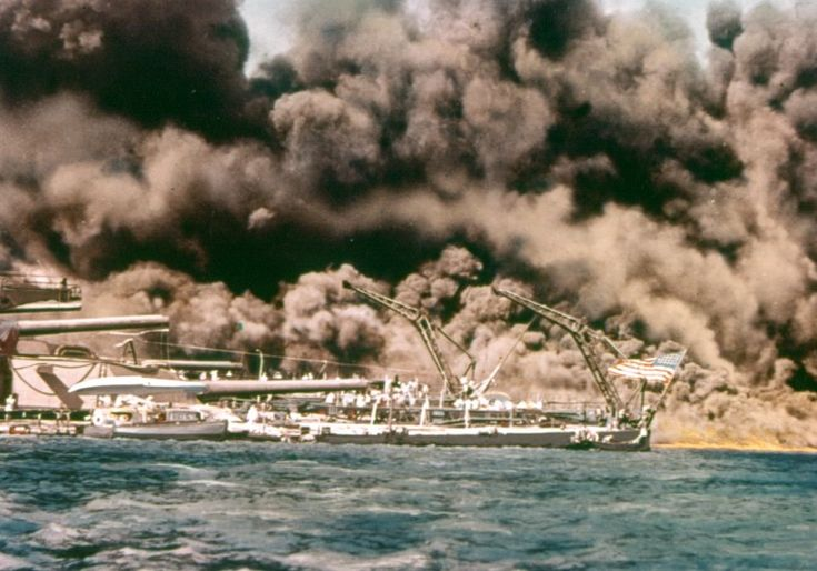 Pearl Harbor, 7 December 1941.