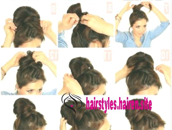 Messy Bun hacks, tips and tricks; Hairstyle ideas for lazy girls; How to do easy...