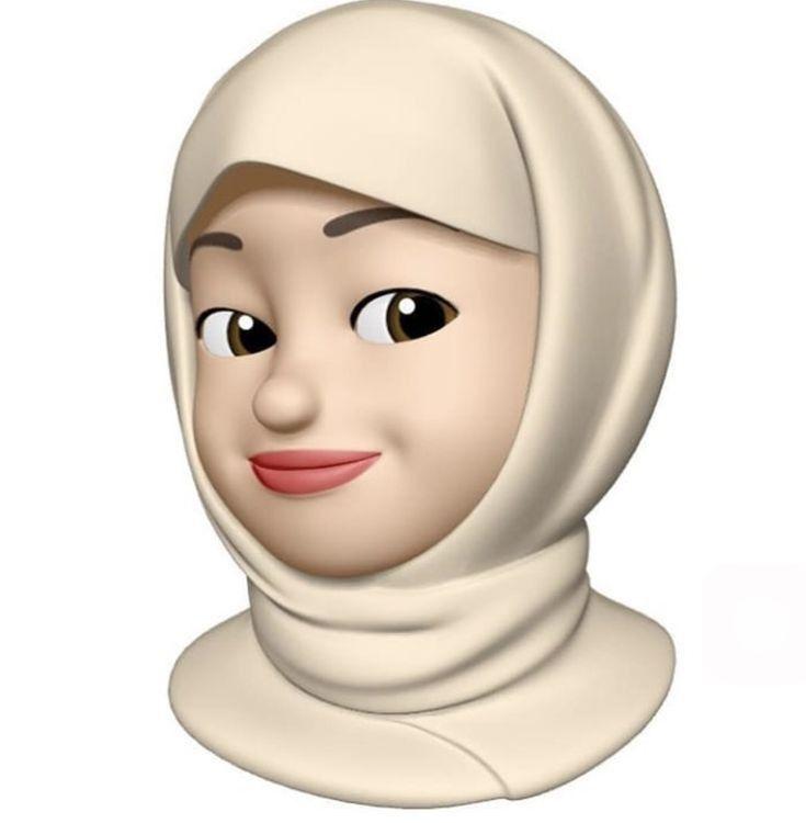 Pin By Turn To Allaah On Hijab Niqab Emoji Hijab Cartoon Cute
