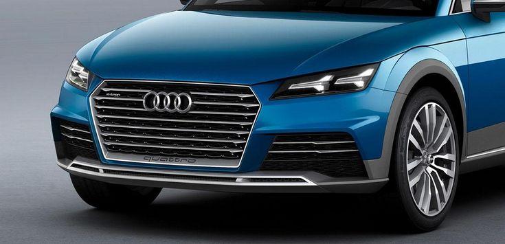 Audi Crossover Coupé Concept : Le fils du Steppenwolf