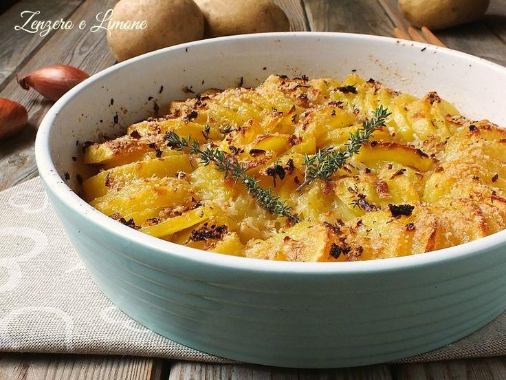 teglia di patate al forno -