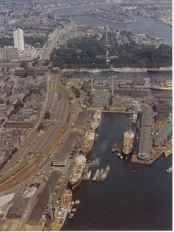 Schiehaven Rotterdam (jaartal: 1970 tot 1980) - Foto's SERC