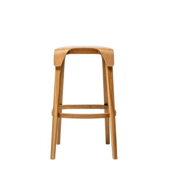 Krzesło barowe LEAF
