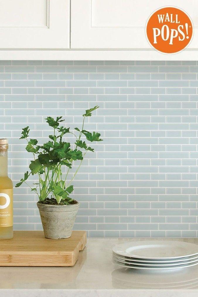 Buy Wall Pops Sea Glass Backsplash Tiles From The Next Uk Online Shop 1000 Glass Backsplash Kitchen Wall Tiles Backsplash Glass Tile Backsplash