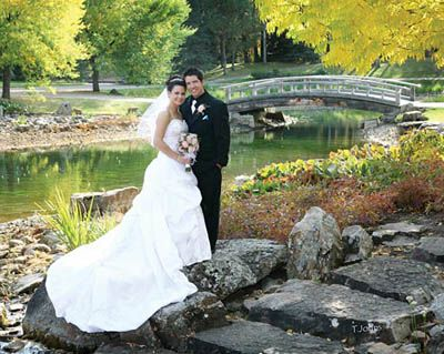 Kurimoto Japanese Garden Wedding - University of Alberta Devonian Botanic Garden