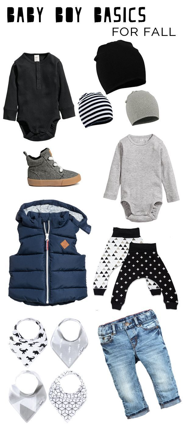 Baby Boy Fall Fashion basics (great prices + quality!)