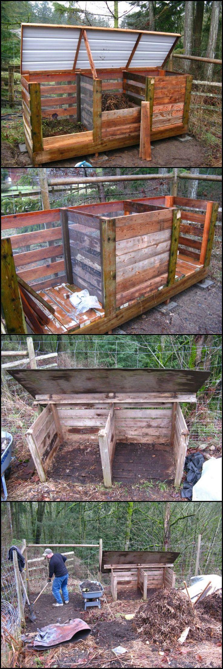 360 best pallet compost bin images on pinterest gardening