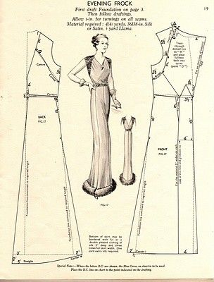 .1930s Evening Frock