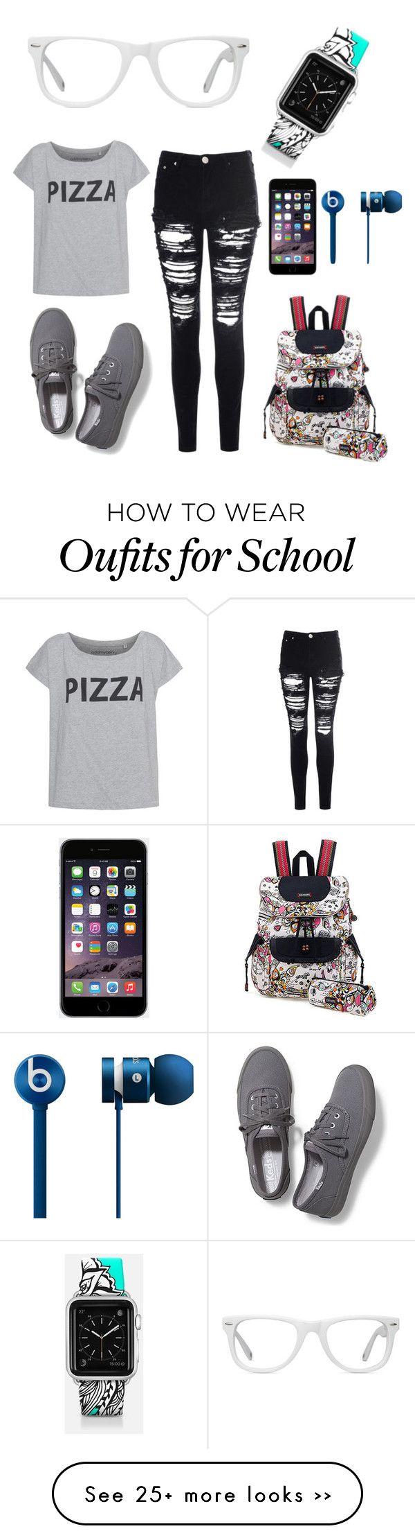 """School"" by anassia-janniello on Polyvore"