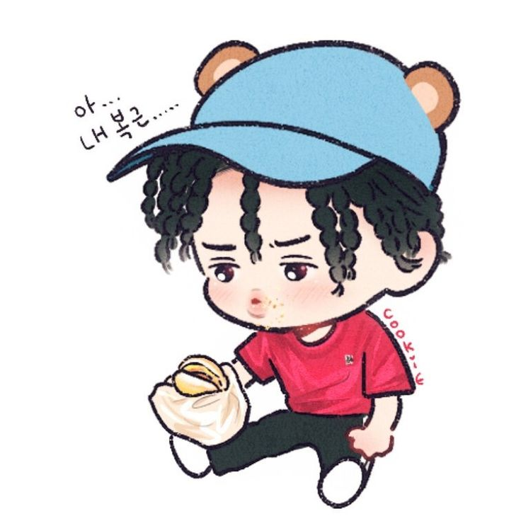 He's a little burger baby I can't